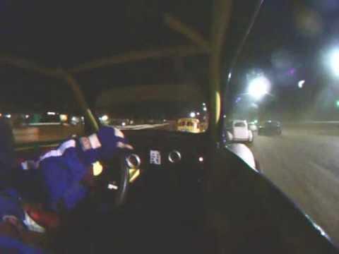 Legends Car Wreck at Susquehanna Speedway Park on 2 July 09