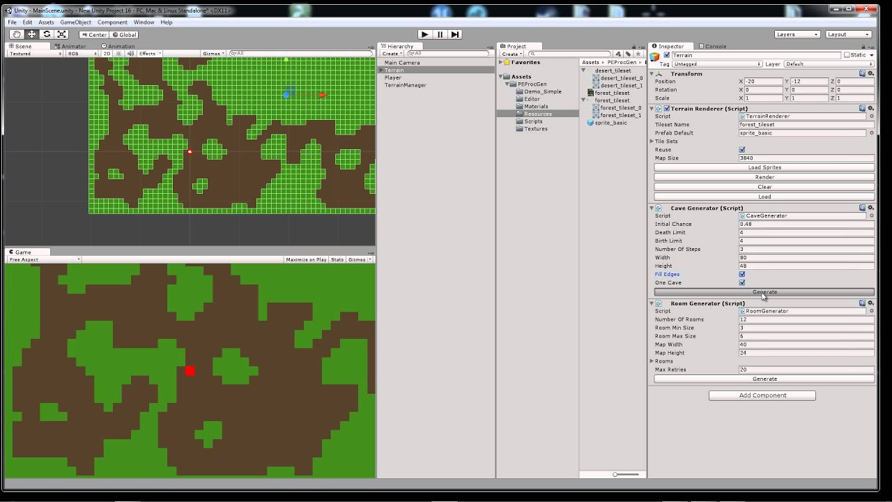 2d procedural terrain generator for unity free youtube gumiabroncs Choice Image