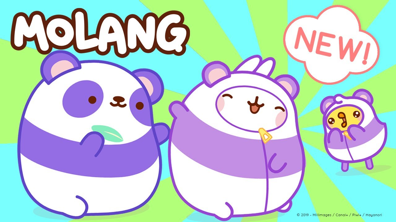 Molang - Hug The Panda !    More @Molang ⬇️ ⬇️ ⬇️