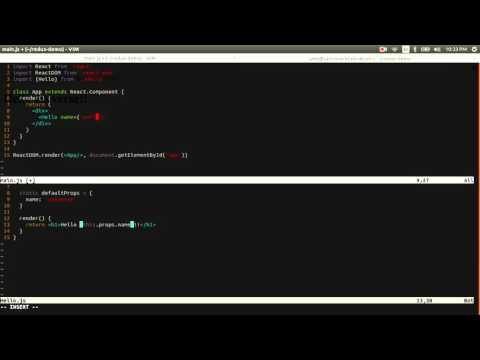 React-Redux Demo 2: Add Props And State