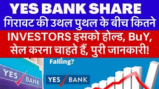 YES BANK SHARE BUY, HOLD, and SELL क्या करना चाहिए? Yes Bank को लेकर Share Market का मूड जाने!