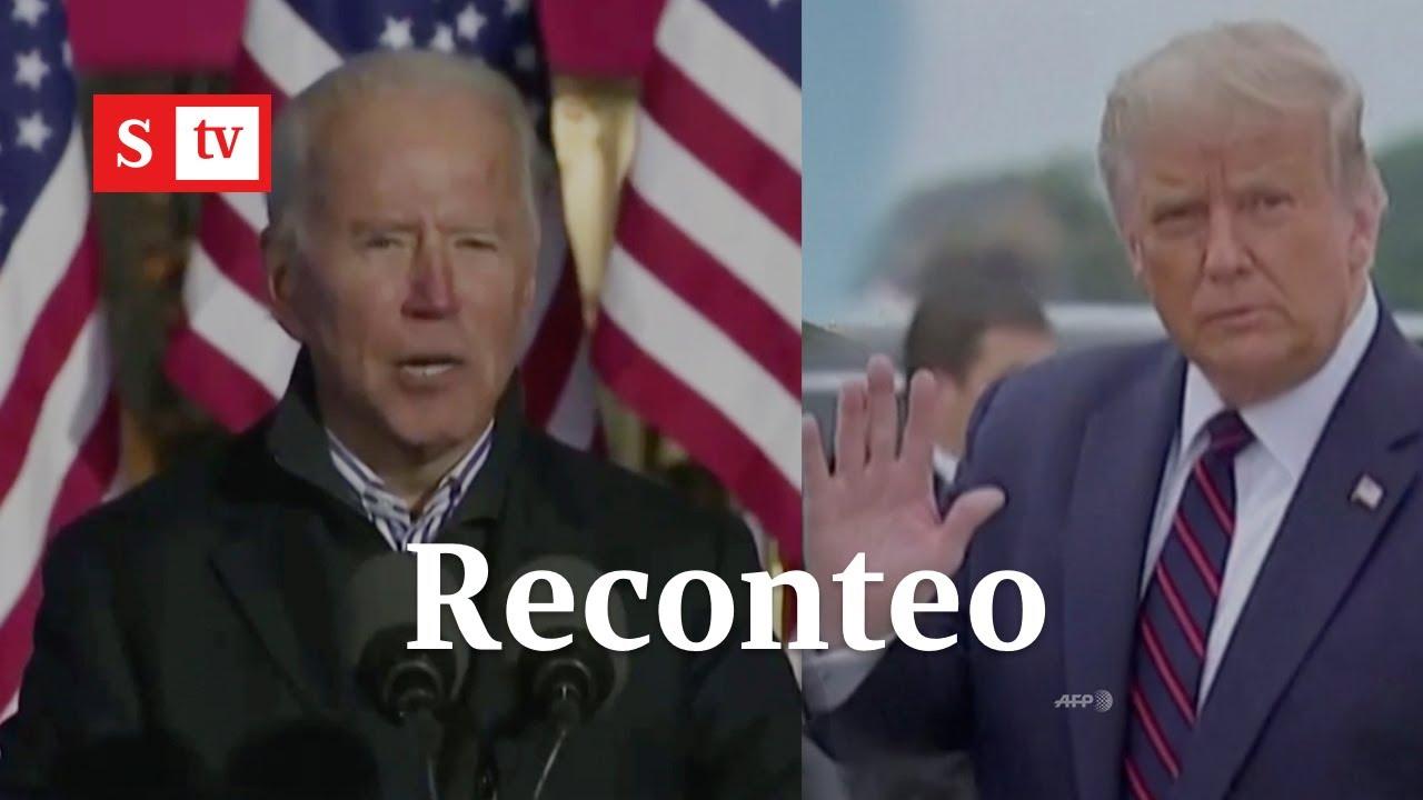 Trump vs. Biden: así va el reconteo de votos para presidente de Estados Unidos | Semana Noticias