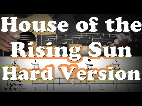 House Of The Rising Sun - Picking Version