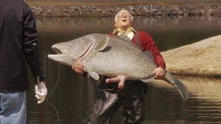 Член-рыба DICK-FISH \\ Несносный дед Jackass Presents: Bad Grandpa