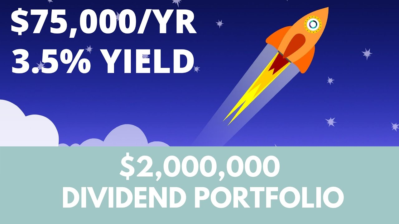 Living off a $2,000,000 dividend growth portfolio