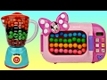 Minnie Mouse Magical Blender & Microwave Filled with Gumballs & M&M's