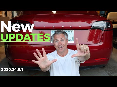 SEVEN Features in the New Tesla Update - We MUST Talk About | Biggest update since V10 | 2020.24.6.1