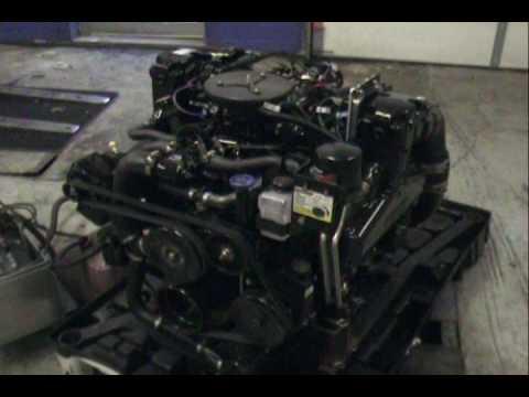 2009 Mercruiser 57L 350 MAG MPI - 300 hp Alpha - YouTube