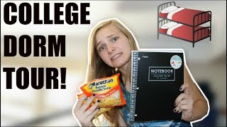 Download FRESHMAN COLLEGE DORM TOUR! MP3 song and Music Video
