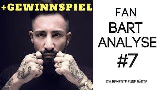 FAN BART ANALYSE #7 + GEWINNSPIEL - ICH BEWERTE EURE BÄRTE | BARTMANN