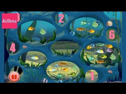ЛУНТИК считает рыбок Учимся считать вместе с Лунтиком Luntik count fishes