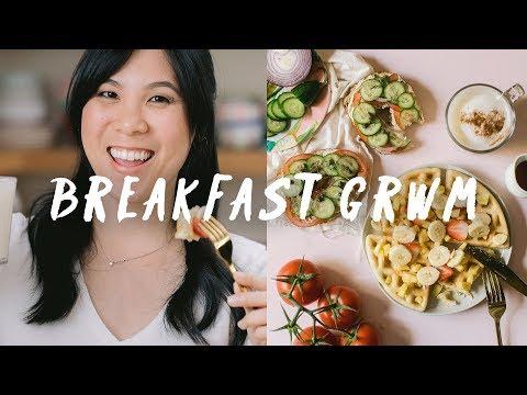 BREAKFAST GRWM + Mothers Day Brunch Ideas ��| HONEYSUCKLE