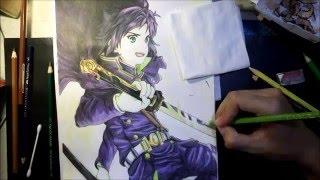 Drawing(百夜 優一郎)Yūichirō Hyakuya-Owari no Seraph 百夜優一郎 検索動画 27