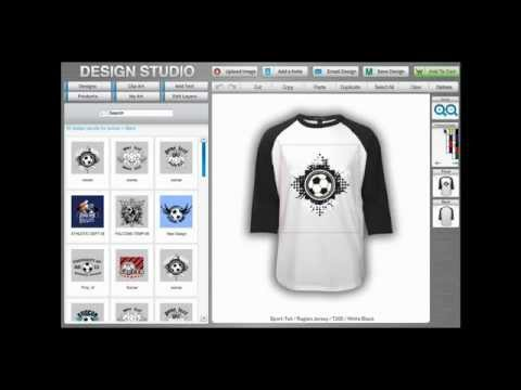 PromoPays How to Design Your Own Custom T-shirt Online Design Studio Video Tutorial