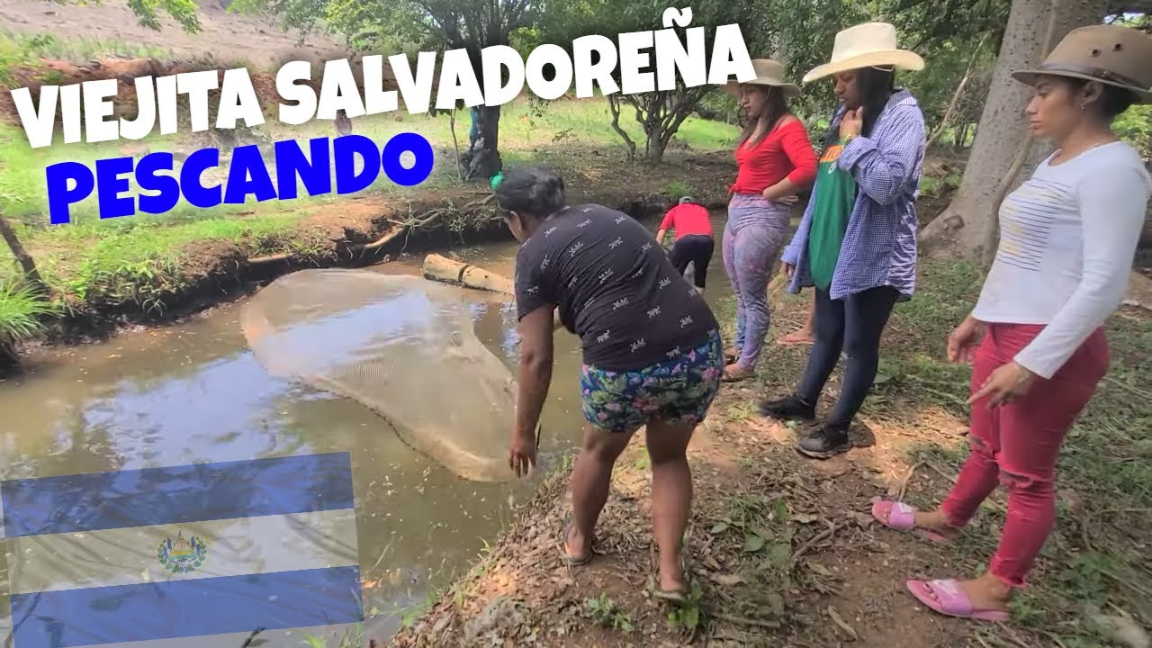 Así es como pescan las mujeres en El Salvador. Parte 8