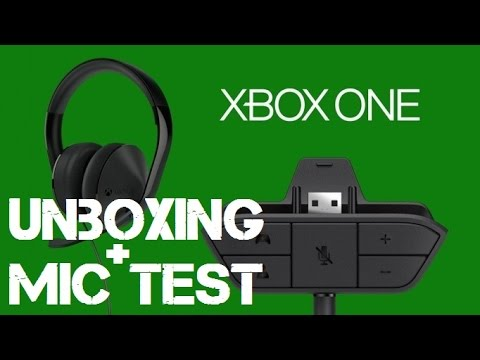 xbox one stereo headset unboxing mic test youtube. Black Bedroom Furniture Sets. Home Design Ideas