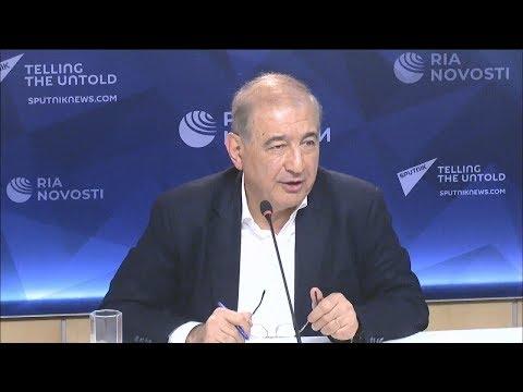 مؤتمر صحفي لرئيس منصة موسكو للمعارضة السورية، د. قدري جميل، 3/12/2019  - 16:01-2019 / 12 / 3
