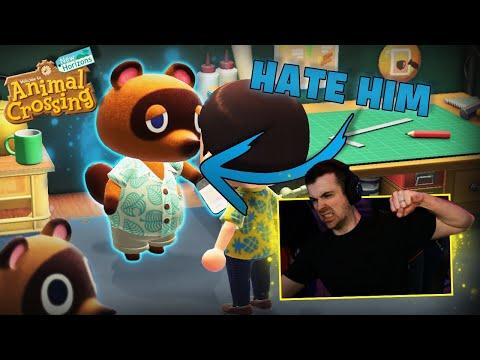 We HATE Tom Nook! (Animal Crossing: New Horizons Part 2)