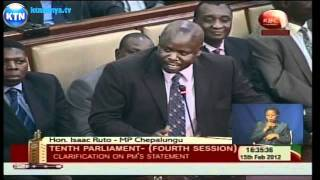 Raila vs Ruto Parliament battle