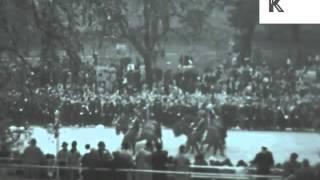 1937 King George VI Coronation, Rare Home Movies, UK Archive Footage 1930s