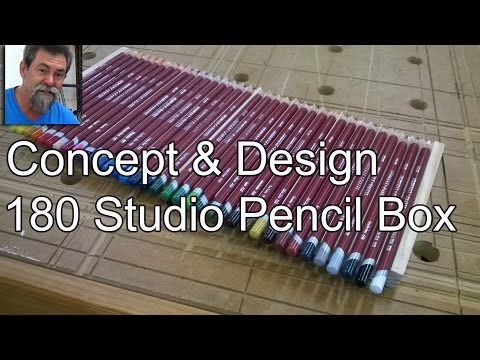 make | pencil box | diy | dave stanton | studio |  woodworking |  derwent | how to