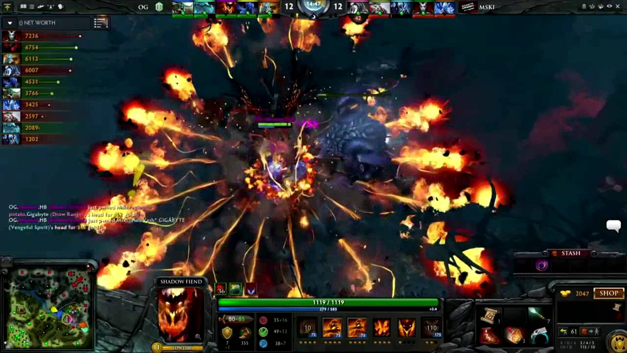miracle 8k mmr requiem vs mineski major dota 2 video pro