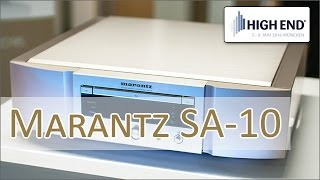 High End 2016: Marantz SA 10 High End CD-Spieler