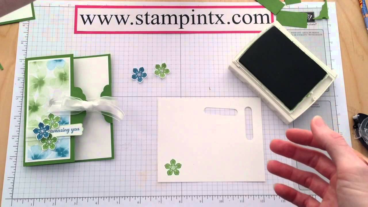 how to create a scalloped tag topper punch card youtube