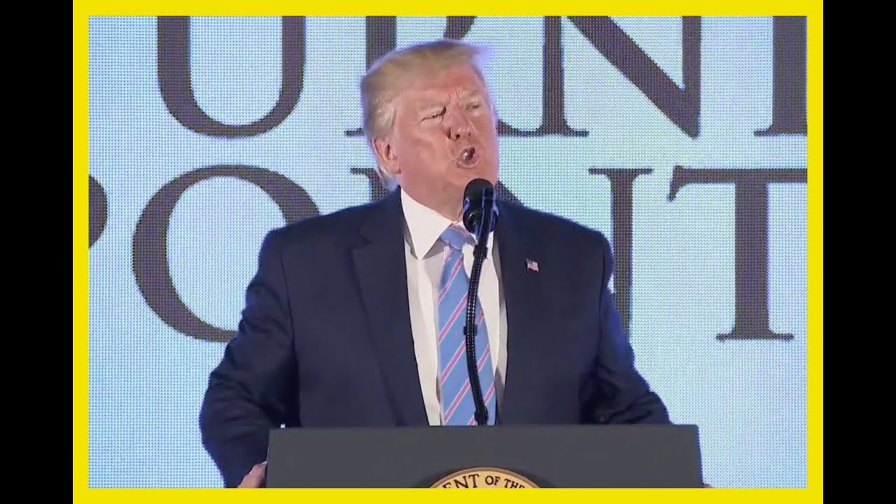 PATRIOTS GO WILD: Trump INTENSE Speech at Turning Point USA Event