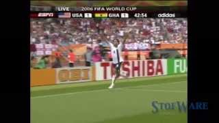 USA World Cup Goals: 1990 - 2010