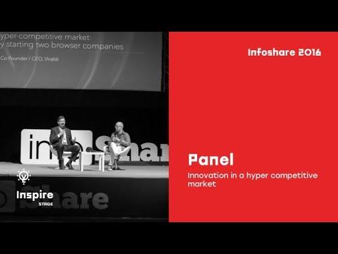 Jon Von Tetzchner (Vivaldi) - Innovation In A Hyper Competitive Market / InfoShare 2016
