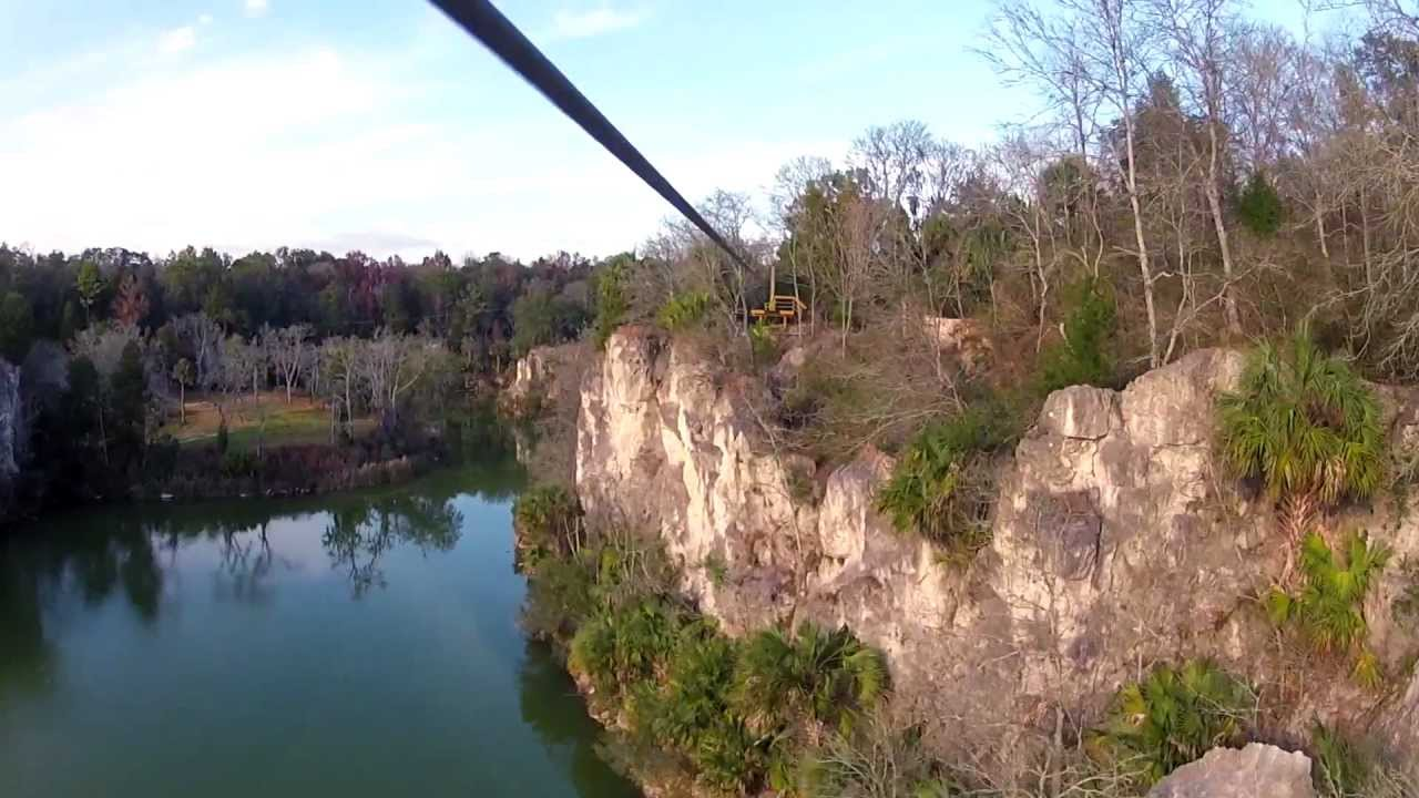The Canyons Zip Line Ocala Florida Promo Official