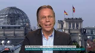 """Revolutionäre Jugend""? - Prof. Harald Welzer zur Vorstellung der Shell-Jugendstudie (2019)"