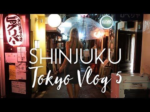 Exploring Shinjuku and Golden Gai (Tokyo Vlog #5)
