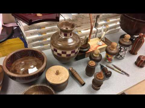 Community Education Woodturning 2017