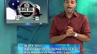 Black Soul Brasil - Ação de merchandising com Denílson no Jogo Aberto TV  Bandeirantes 3dcc16ce9d5