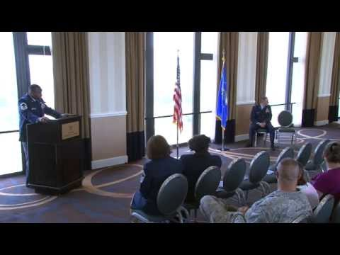 "AF Retirement Ceremony for Senior Master Sergeant David ""Robo"" Roberson"