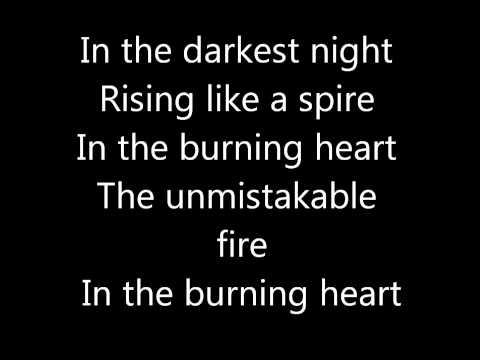 Burning heart Survivor lyrics
