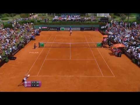 Highlights: Maria Irigoyen (ARG) v Serena Williams (USA)