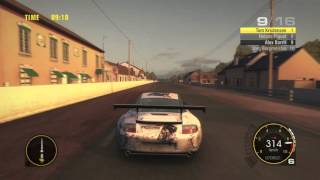 Race Driver: GRID gameplay: 24 Hours of Le Mans GT2
