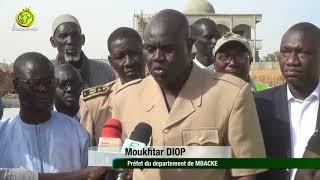 Assainissement Ville de Touba: M Moukhtar Diop préfet de Mbacké en visite  à l'Université de Touba