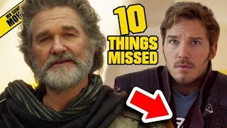 New GUARDIANS OF THE GALAXY Vol. 2 Trailer - Easter Eggs, Things Missed & Weird Characters
