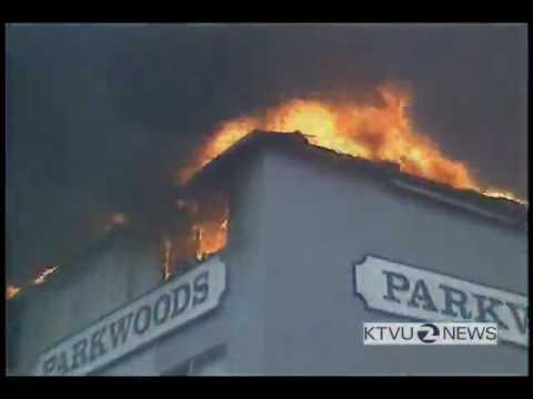 KTVU 1991 Oakland Hills Fire News Report - SF Bay Area 80s 90s
