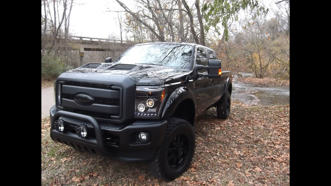 2014 f250 black ops by tuscany fully loaded ford of murfreesboro youtube