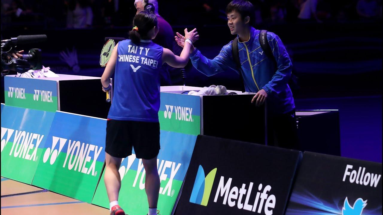 All England Open 2017 WS Final Tai Tzu Ying vs Ratchanok Intanon (中英文字幕)