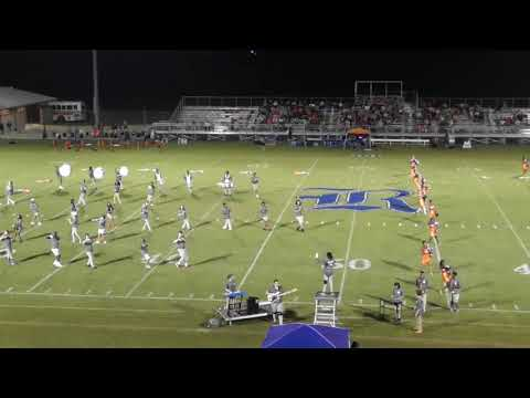 Charles Henderson High School Marching Band 09082018