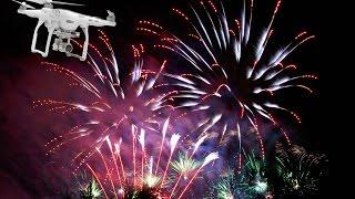 Feuerabend Herne 2015 aus der Luft