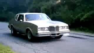 1978 pontiac grand prix sj burnout!