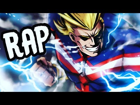 """ALL MIGHT RAP   """"Mighty""""   RUSTAGE Ft Daddyphatsnaps [My Hero Academia]"""