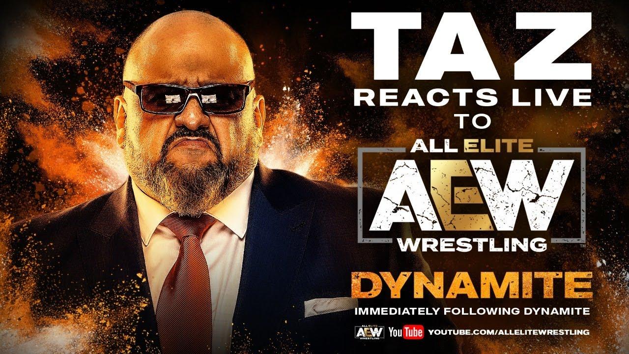 TAZ Reacts Live AEW DYNAMITE   March 25, 2020